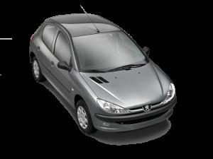 برچسب دودی شیشه خودرو  پژو 206- رانا ضدخش