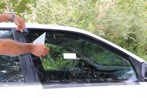 پرشین دودی - برچسب برش خورده شیشه دودی